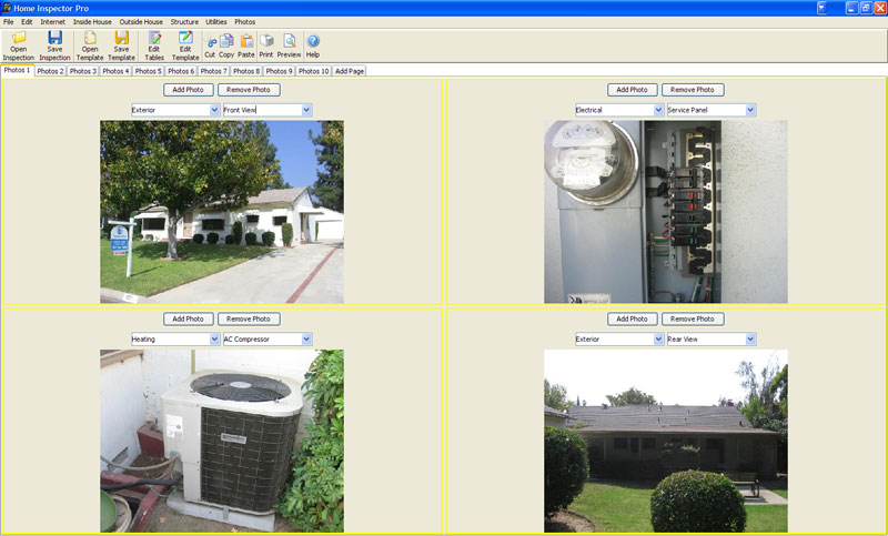 Click to view Home Inspector Pro Home Inspection Software 2.9.0.0 screenshot